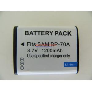 Аккумуляторная батарея BP-70A, EA-BP70A, EC-SL50ZZBPBUS, SLB-70A , BP70A, EABP70A, ECSL50ZZBPBUS, SLB70A ,70A