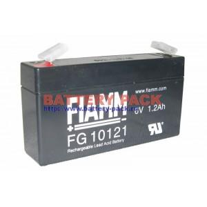 FIAMM FG 10121 (6V, 1.2Ah), Аккумуляторная батарея FG10121