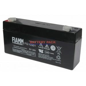 FIAMM FG 10301 (6V, 3Ah), Аккумуляторная батарея FG10301 (возим под заказ от 200 шт.)