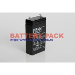 FIAMM FG 10381 (6V, 3.8Ah), Аккумуляторная батарея FG10381 (возим под заказ от 200 шт.)
