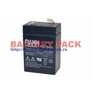 FIAMM FG 10451 (6V, 4.5Ah), Аккумуляторная батарея FG10451