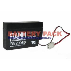 FIAMM FG 20086 (12V, 0.8Ah), Аккумуляторная батарея FG20086