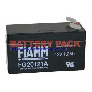 FIAMM FG 20121A (12V, 1.2Ah), Аккумуляторная батарея FG20121A