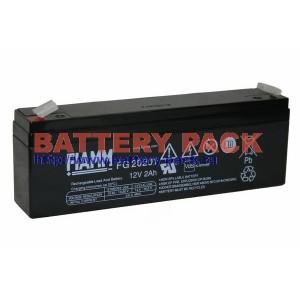 FIAMM FG 20201 (12V, 2Ah), Аккумуляторная батарея FG20201